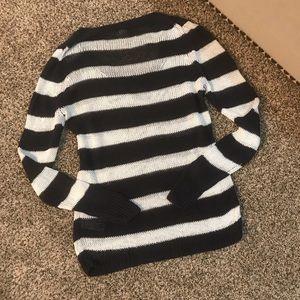 J. Crew Sweaters - J. Crew Stripe Linen Sweater